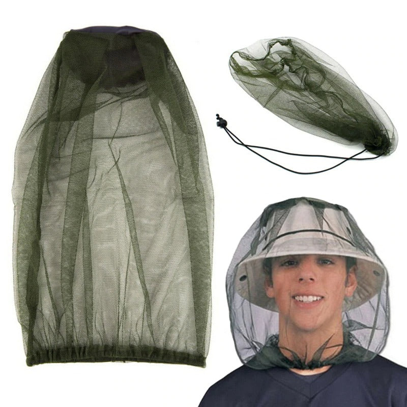 Outdoor Fishing Hat Cap Anti Mosquito Insect Net Hat