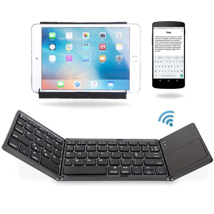 Mini Wireless Portable Folding Keyboard