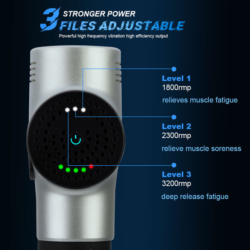 Muscle stimulator Massager Gun