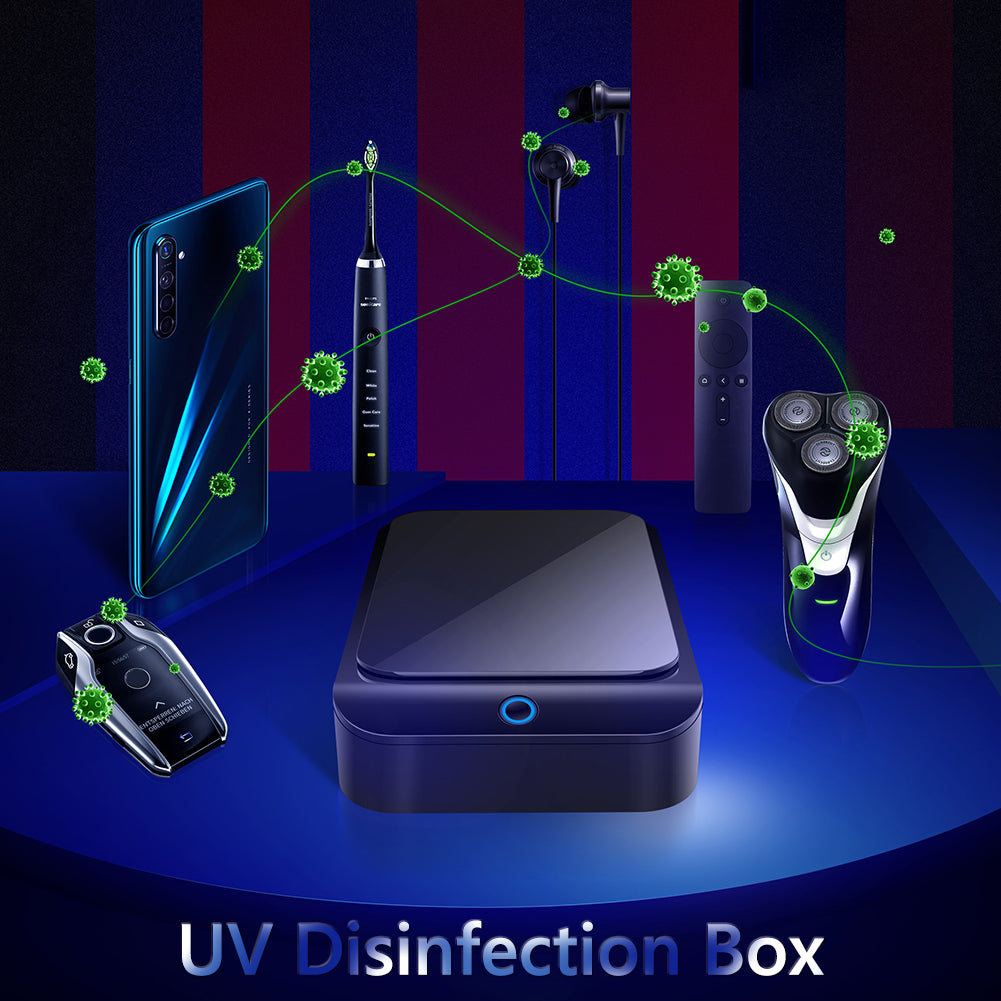 Portable UV Lamp Sterilizer Box for 6-inch Items