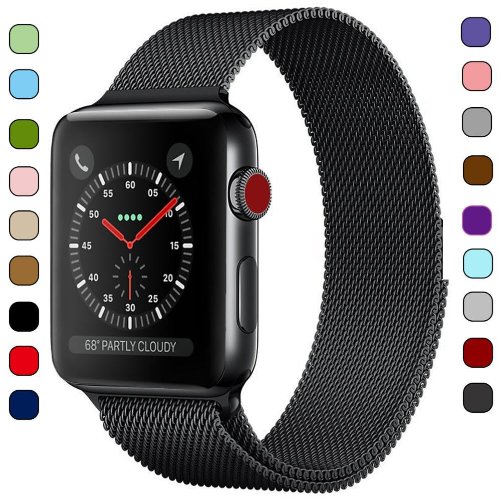 Strap (Milanese Loop) For Apple Watch band