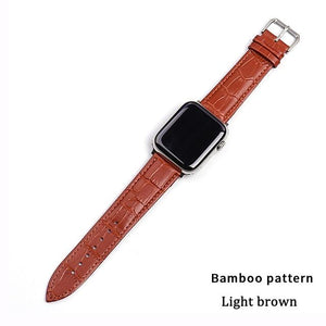 Strap (Leather  Loop) For Apple Watch band
