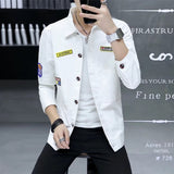 Cheap wholesale 2019 new autumn winter Hot selling men's fashion netred casual Denim Jacket MP457