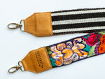 Load image into Gallery viewer, Camera & Bag Strap - White Jungle Flower
