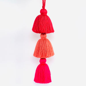 Peach 3-Tier Tassel
