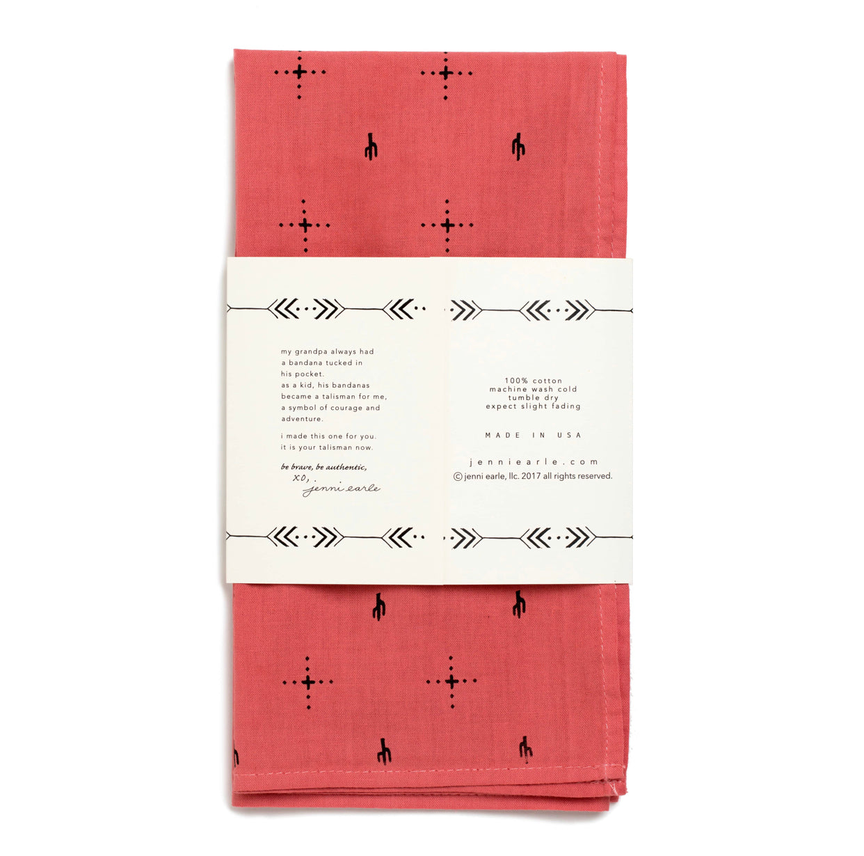 Jenni Earle - 'Explore More' Bandana