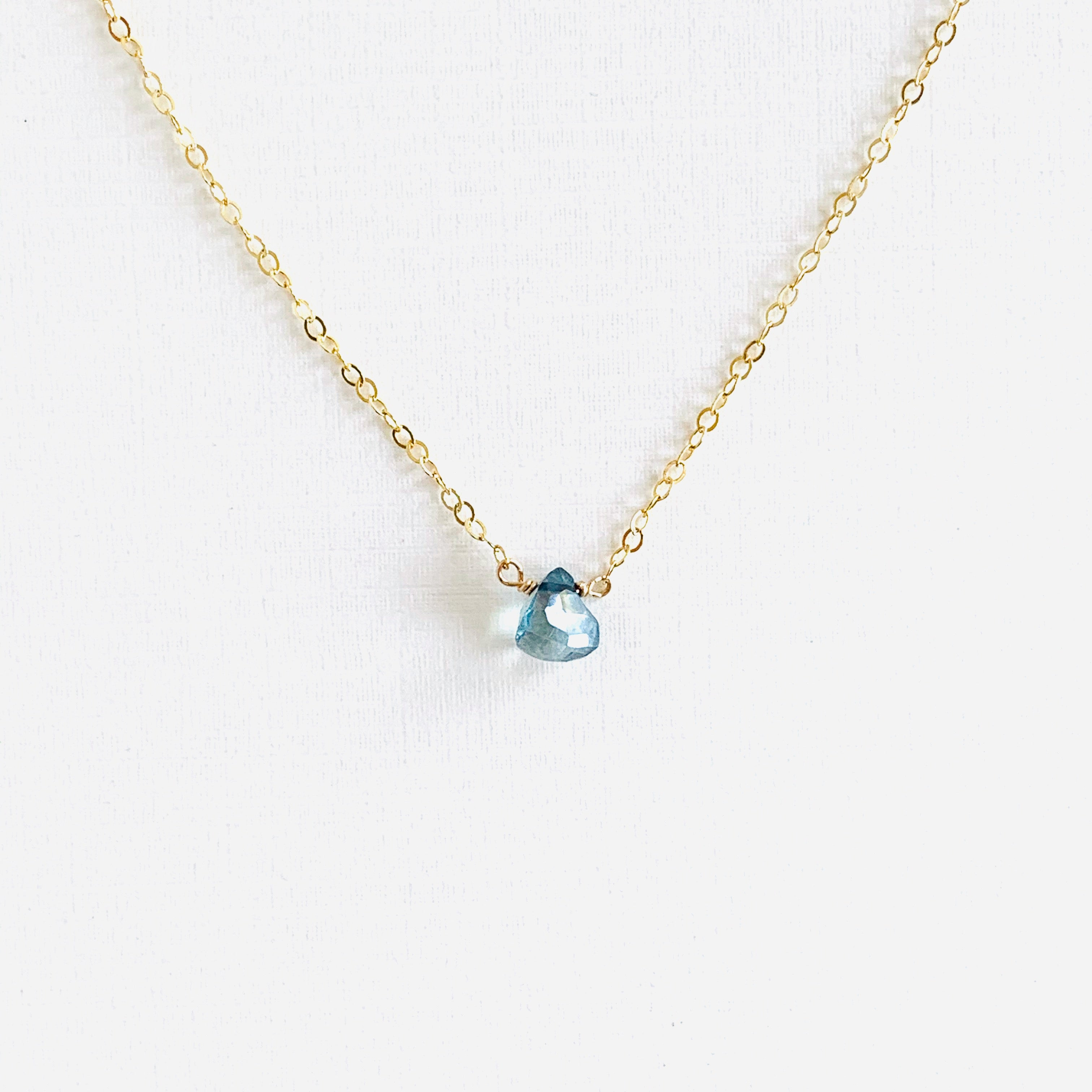 Aqua Triad Necklace