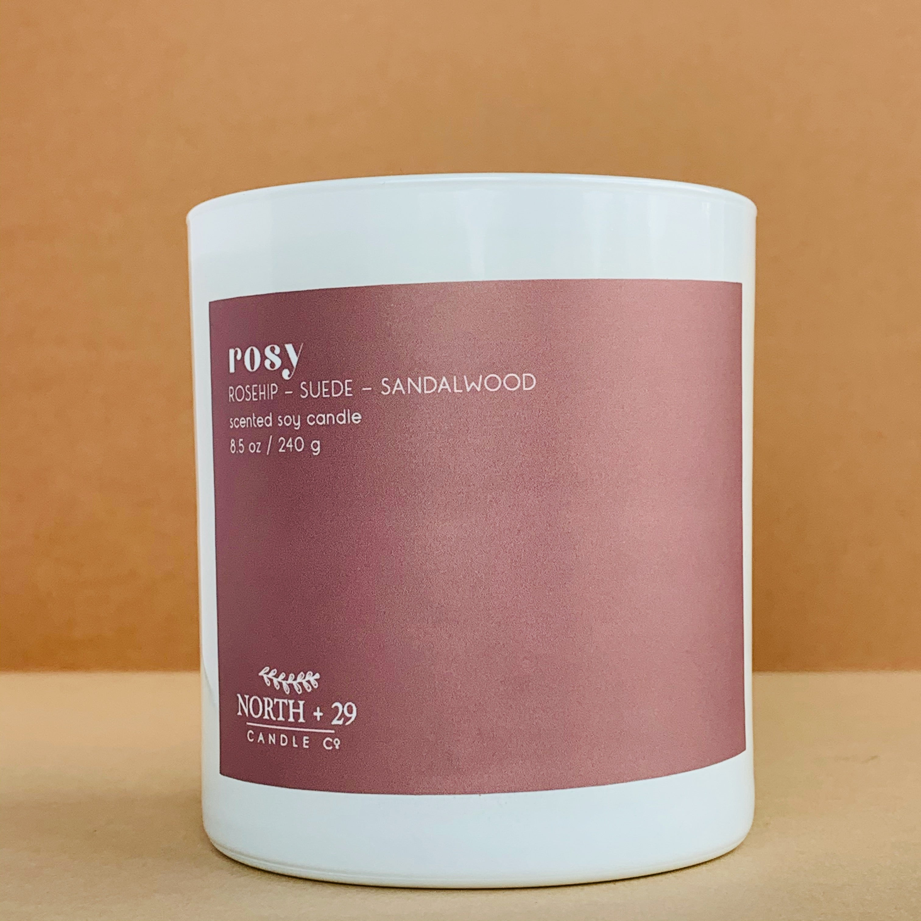 Rosy Soy Candle
