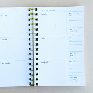 Abstract Weekly Planner