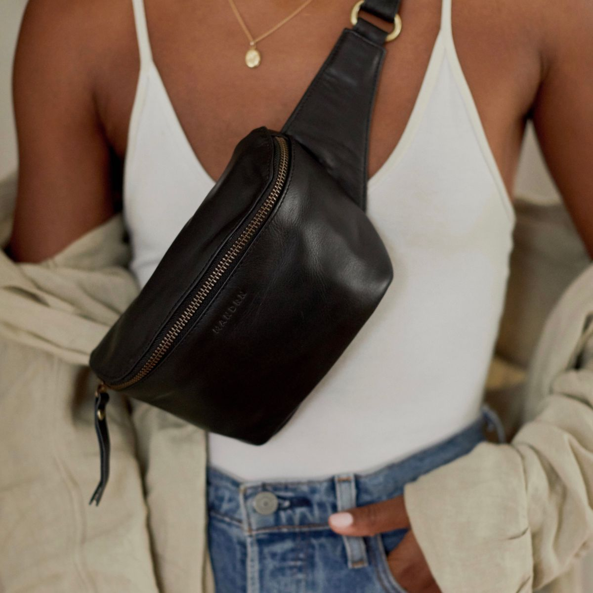 The Remy Fanny Pack– Black