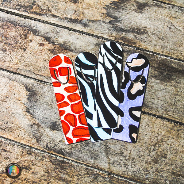 Animal Print Sublimation Bookmarks with Artesprix