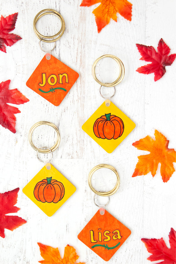 Artesprix Thanksgiving Keychain