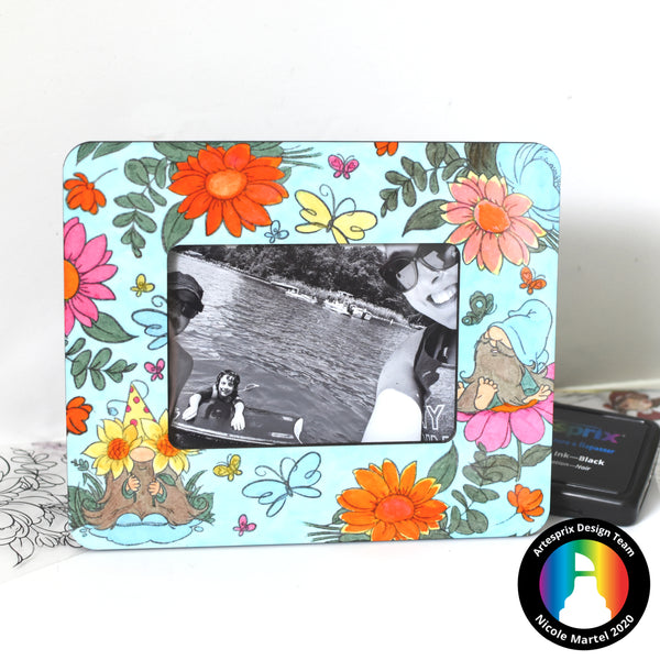 Artesprix Picture Frame design with Iron-on-Ink Sublimation!