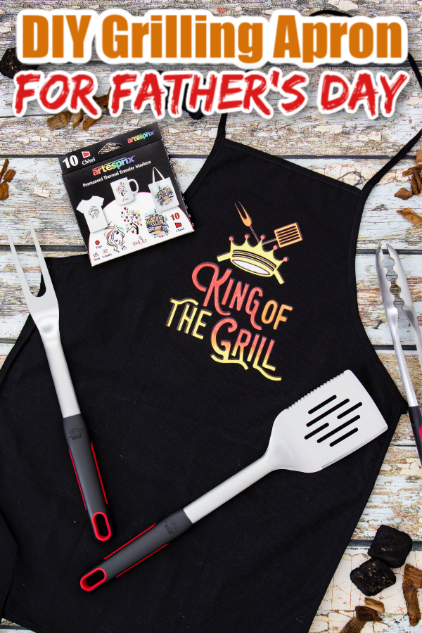 Grilling Apron is the best gift For Father's Day!