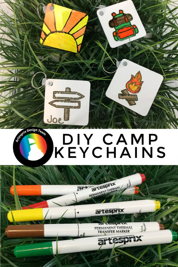 Prepare for Summer Camp with DIY Artesprix Keychains
