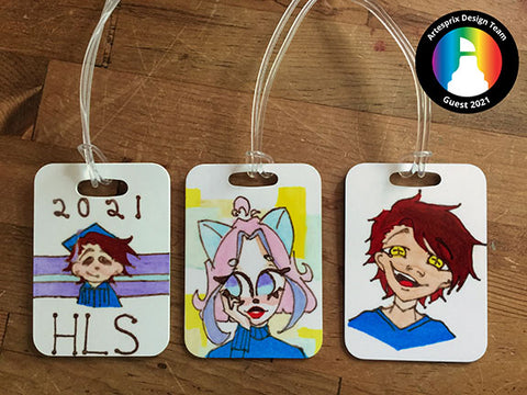 Bag Tags Sublimation Craft Project