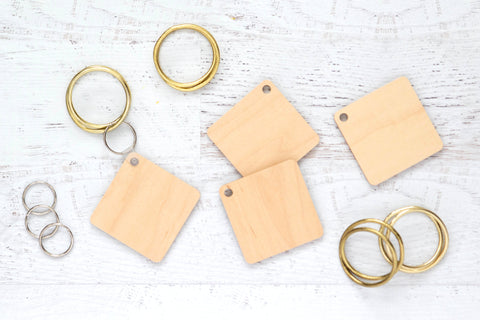 Artesprix Maple Key Chains