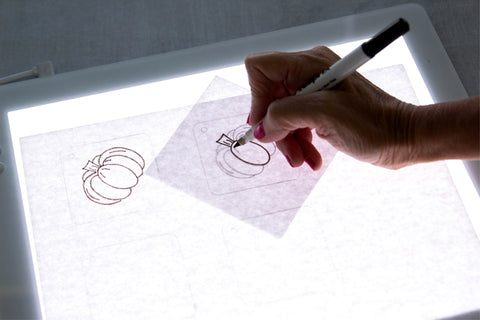 Trace your Design on a new sheet of copy paper