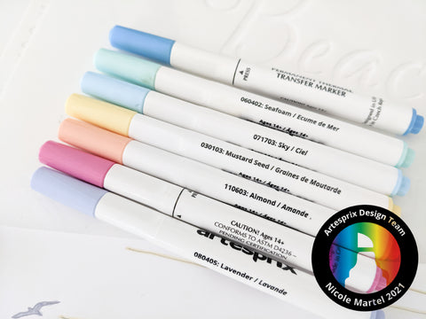 Sublimation Pastel Markers