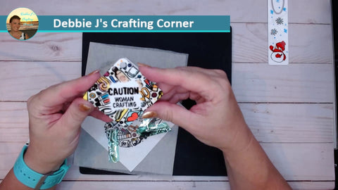 Sublimation key chain DIY with iron-on-ink
