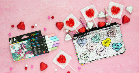 Iron-on-Ink Valentine's Day Project
