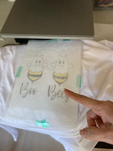 Iron-on-Ink transfer to T-Shirt