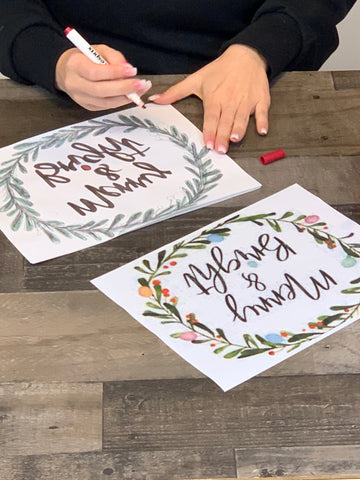 Color your design with Iron-on-Ink Markers