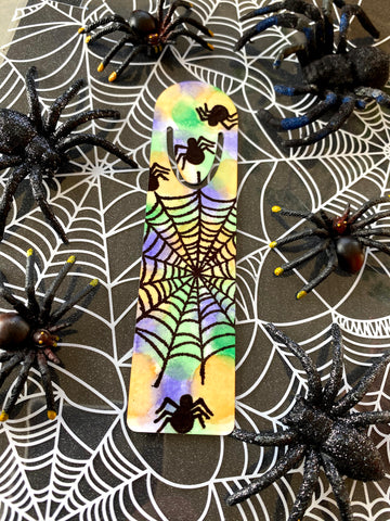Halloween Iron-on-Ink Bookmark Project