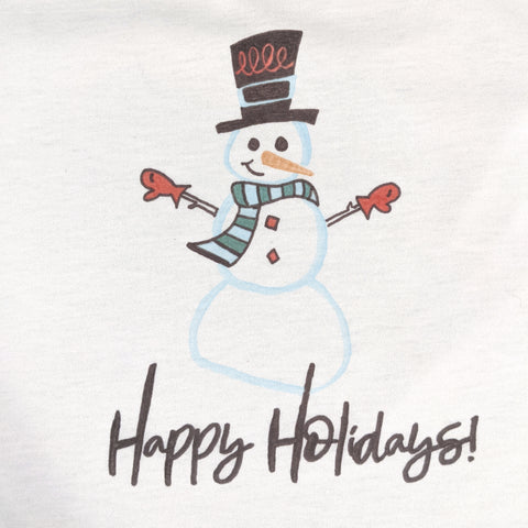 Iron-on-Ink Snowman t-shirt