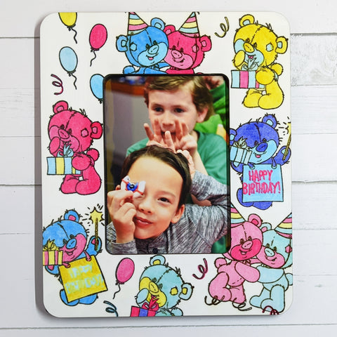 Sublimation DIY Design happy birthday picture frame