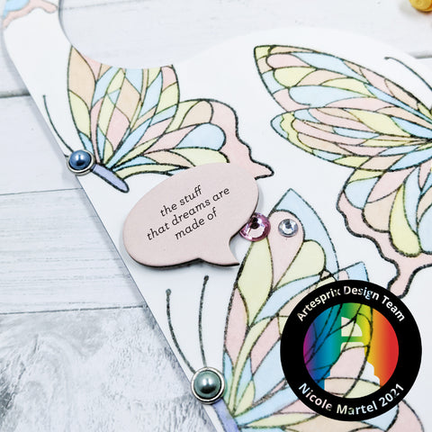 DIY Sublimation Door Hanger with Iron-on-Ink Stamp Pad