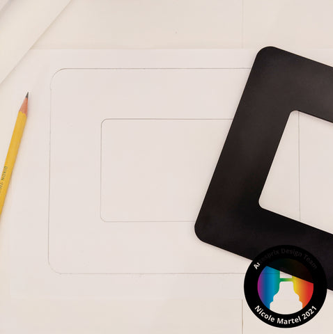 Sublimation Picture Frame DIY Template