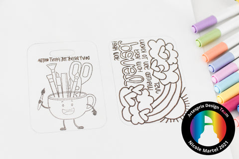 Trinity Stamp with Sublimation Ink