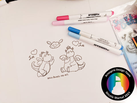 Sublimation Marker Coloring