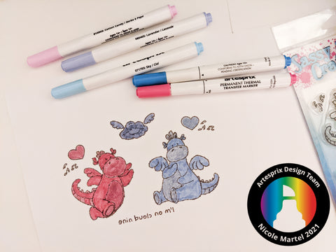 Sublimation Markers Stamps