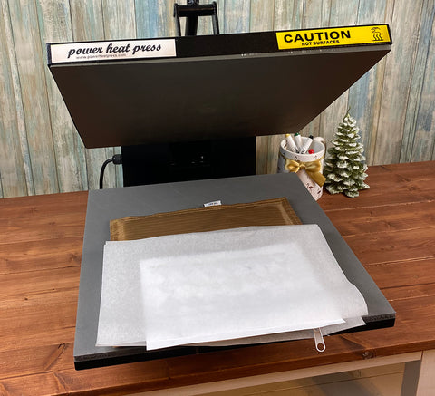 Artesprix Project in Heat Press