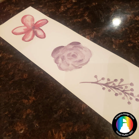 Sublimation watercolor flower designs polyester t shirt