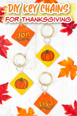 Artesprix Thanksgiving Key Chains