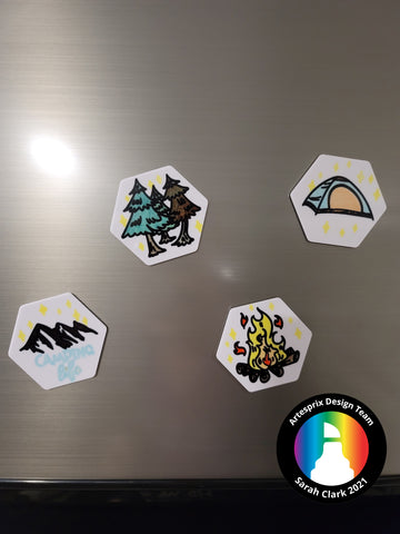 Sublimation DIY Magnets Markers