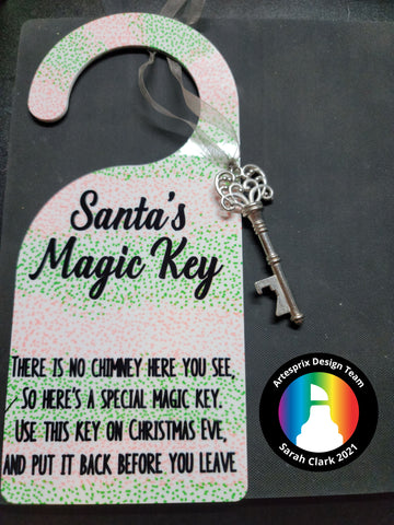 Sublimation Door Hanger with Sublimation markers