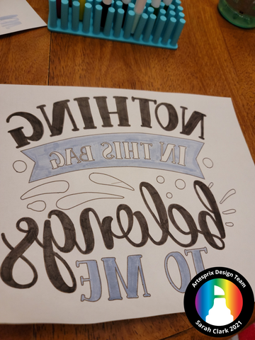 sublimation marker SVG with silhouette cameo