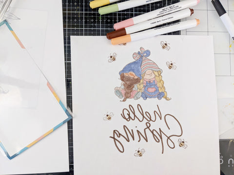 Trinity Stamps Sublimation Markers Stamp Pad