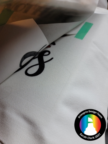 sublimation markers SVG design with polyester tote bag