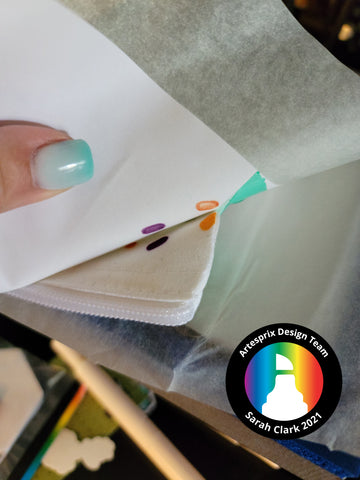 Sublimation Peek Test DIY Iron-on-Ink Back-To-School Zip Pouch Tutorial