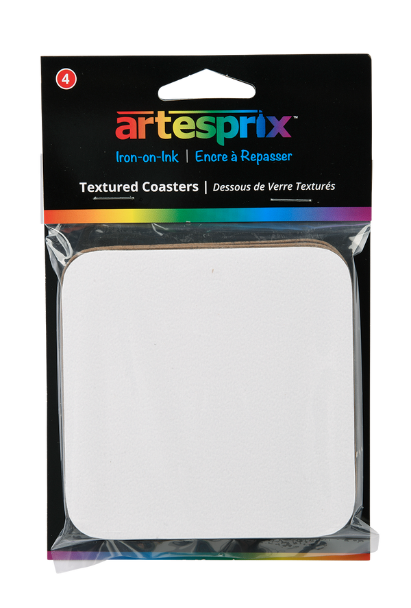 Textured Coasters 4ct - Artesprix