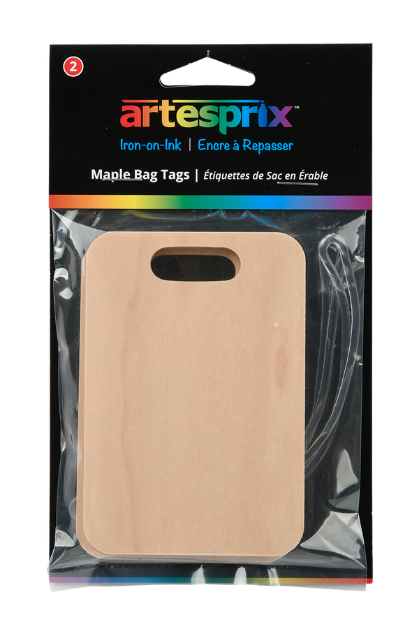Bag Tags (2ct) - Maple, Plastic or Metal - Artesprix