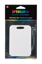Load image into Gallery viewer, Bag Tags (2ct) - Maple, Plastic or Metal