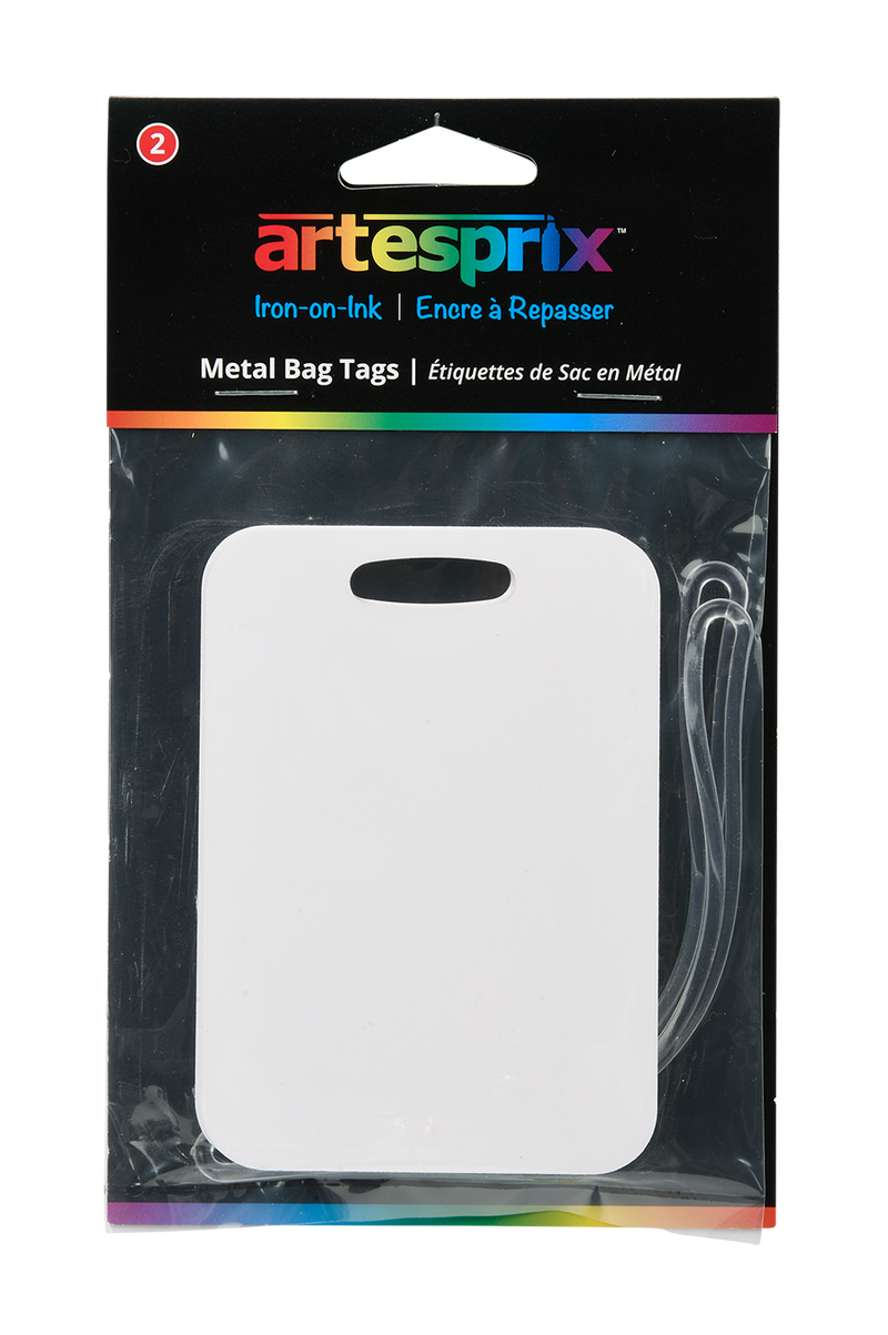 Bag Tags 2ct - Maple, Plastic or Metal - Artesprix