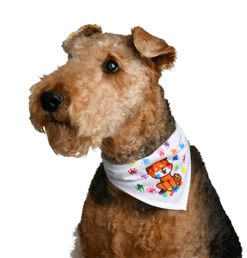 Pet Bandana - S, M or XL - Artesprix