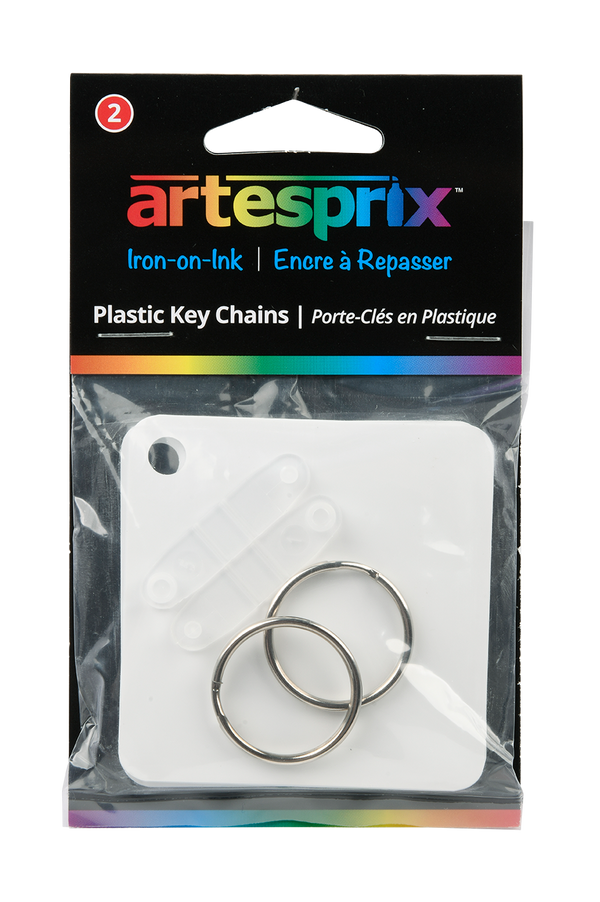 Key Chains 2ct - Maple, Metal or Plastic - Artesprix
